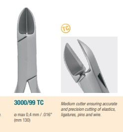 Medesy Wire Cutter TC ?¸ max 0.5 mm - 130 mm