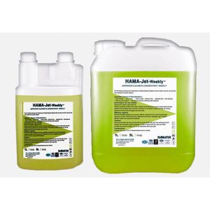 HAMA JET WEEKLY, Weekly Aspirator Cleaner and Disinfectant, 5L